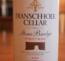 Franschhoek Cellar Stone Bridge Pinotage – A Pinotage For The People
