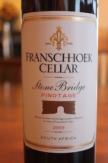 2009_Franschhoek Cellar_Stone_Bridge_Pinotage