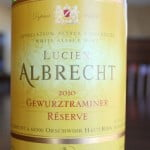 Lucien Albrecht Gewurztraminer Reserve 2010 – Hard To Pronounce, Easy To Love