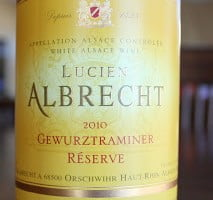 Lucien Albrecht Gewurztraminer Reserve – Hard To Pronounce, Easy To Love