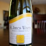 St. James Winery Vignoles Ozark Highlands Semi-Dry White Wine 2010 – A Pineapple Lover's Paradise