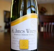 St. James Winery Vignoles Ozark Highlands Semi-Dry White Wine – A Pineapple Lover's Paradise