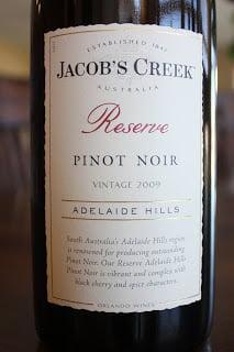 2009-Jacob's-Creek-Reserve-Pinot-Noir