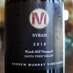 Andrew Murray Vineyards Watch Hill Syrah 2010 – A Truly Worthy Wine For A Saturday Splurge