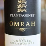 Plantagenet Omrah Unoaked Chardonnay 2010 – A Zesty Chardonnay Sets The Bar