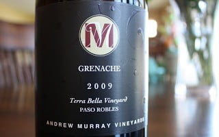 Andrew Murray Vineyards Terra Bella Grenache – A Sold Out Saturday Splurge
