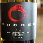 Brooks Ara Riesling 2009 – A Harmonious and Delicious Saturday Splurge