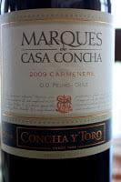2009_Concha_y_Toro_Marques_de_Casa_Concha_Carmenere