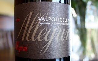 Allegrini Valpolicella – Goes Down Easy