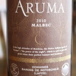 Bodegas Caro Aruma Malbec 2010 – Do Big Names = A Big Wine?