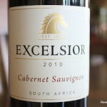 Excelsior Cabernet Sauvignon 2010 – Thoroughly Enjoyable