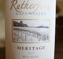 Kirkland Signature Rutherford Napa Valley Meritage 2010 – An Annual Bulk Buy
