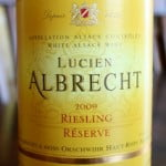 Lucien Albrecht Reserve Riesling 2009 – In Perfect Harmony