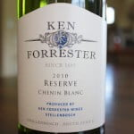 Ken Forrester Reserve Chenin Blanc 2010 – Rich, Creamy, Toasty and Fruity