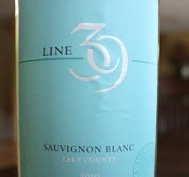 Line 39 Sauvignon Blanc Lake County – A Delightfully Good Wine That Won't Bust Your Budget
