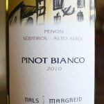 Wines From Alto Adige Wine #1 – Nals Margreid Penon Pinot Bianco 2010