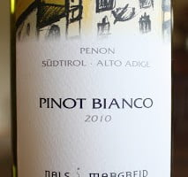 Wines From Alto Adige Wine #1 – Nals Margreid Penon Pinot Bianco
