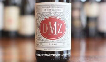 DeMorgenzon DMZ Syrah – Smoking!