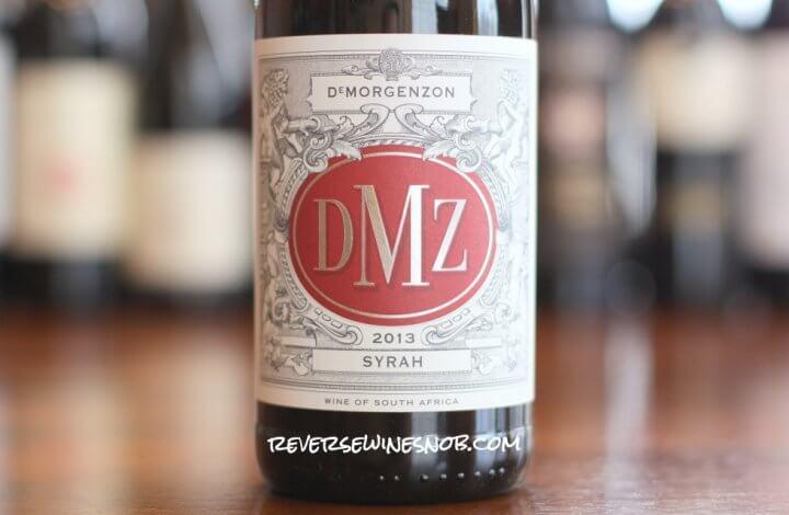 DeMorgenzon DMZ Syrah - Smoking!