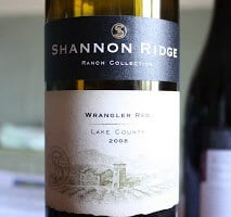 Shannon Ridge Lake County Wrangler Red – Six Grapes, One Beautiful Blend