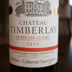 Chateau Timberlay Bordeaux Clairet 2010 – Pure Fruit!