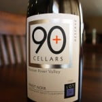 Ninety Plus (90+) Cellars Reserve Lot 56 Russian River Valley Pinot Noir 2008 – Eminently Drinkable