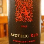 Apothic Red Winemaker's Blend 2009 – A Whole Lot of Flavor Goin' On