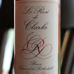 Le Rosé de Clarke Baron Edmond de Rothschild Bordeaux 2010 – Fresh, Refreshing and Delicious