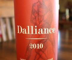 Dalliance Lake County Red Wine – Far From Boring