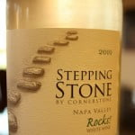 Stepping Stone White Rocks! By Cornerstone 2010 – Step Into A Light And Simple Wine