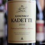 Kanonkop Kadette 2010 – An Excellent Cuvée From The Cape