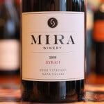 Mira Winery Hyde Vineyard Syrah 2009 – Seriously Good Syrah