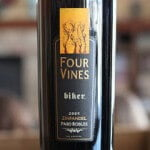 Four Vines Paso Robles Biker Zinfandel 2009 – BFFs with BBQ Sauce