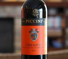 Piccini Chianti – $8 Italian Reds