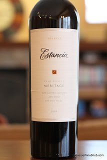 Estancia Reserve Meritage 2009 - Make Mine A Meritage Wine #7