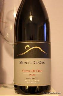 2009-Monte-De-Oro-Cuvee-De-Oro-Red-Wine