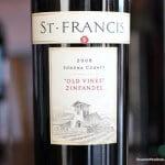 St. Francis Old Vine Zinfandel 2008 – A Hedonistic Delight