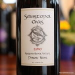 Sebastopol Oaks Russian River Pinot Noir 2010 – A Delicious Food Flexible Find
