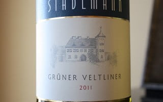 Gruner Love Featuring the Stadlmann Gruner Veltliner 2011