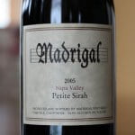 Madrigal Napa Valley Petite Sirah 2005 – Perfection