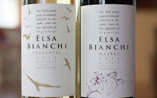 Elsa Bianchi Malbec and Torrontes – Value Defined