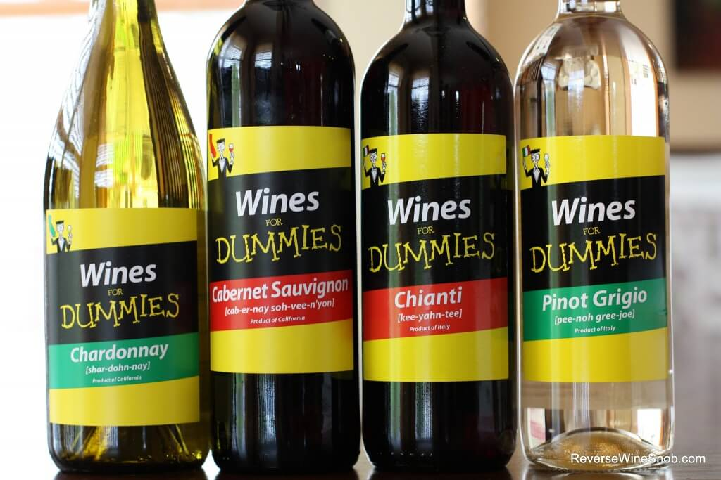 Wine For Dummies - Marketing Gone Wild?