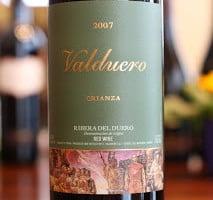 Valduero Crianza Tempranillo – Value From Ribera Del Duero