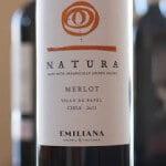 Emiliana Natura Merlot 2011 – Naturally Good