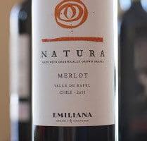 Emiliana Natura Merlot – Naturally Good