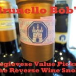 Brunello Bob's Sangiovese Values