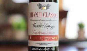 Basilica Cafaggio Single Estate Chianti Classico - The Best $10 Chianti Classico?