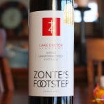 Zonte's Footstep Lake Doctor Shiraz 2010 – Just What The Doctor Ordered