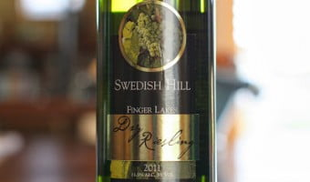 Swedish Hill Dry Riesling – World Class Riesling From New York?