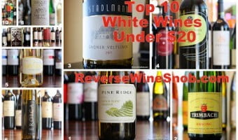Top 10 White Wines Under $20